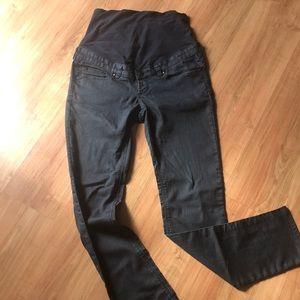 H&M maternity black jeans